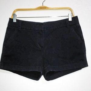 CREW Chino shorts size 8